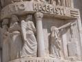 Cascia - Basilica facciata